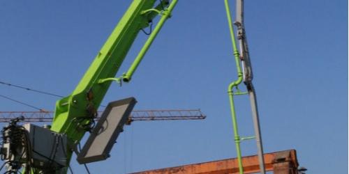 科尼乐混凝土布料机施工时的注意事项及特点