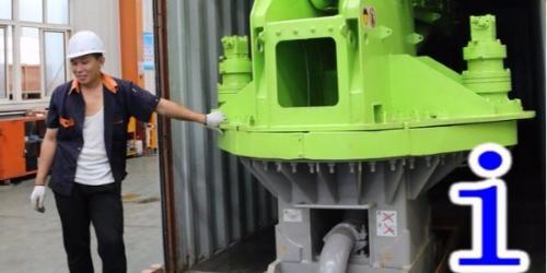 混凝土布料机泵送过程中,混凝土应如何进行正确地配比?