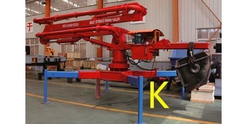 高层施工中动臂塔吊及液压布料机如何选型