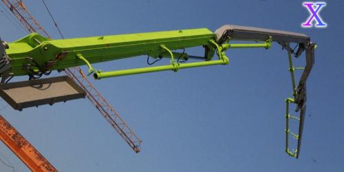混凝土布料机实际施工过程中存在哪些优势?——科尼乐