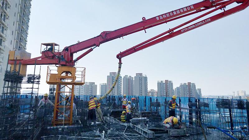 科尼乐助力黑龙江中信路桥公进行制梁场建设