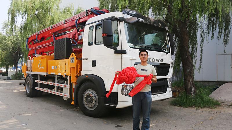 科尼乐混凝土泵车给力,半年时间就回本了